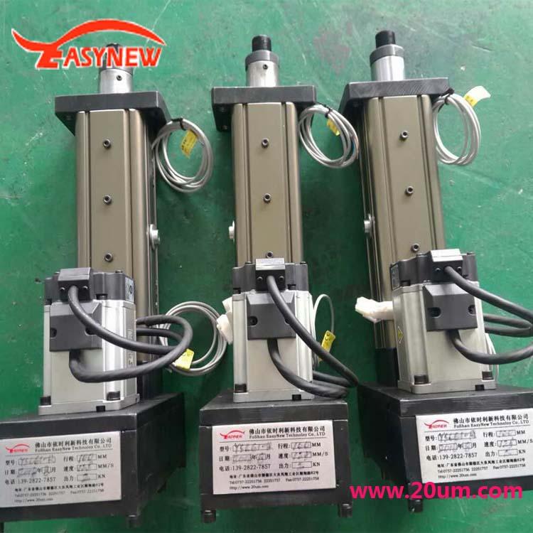 【供应批发】高精度定位用伺服电动缸,工厂订制
