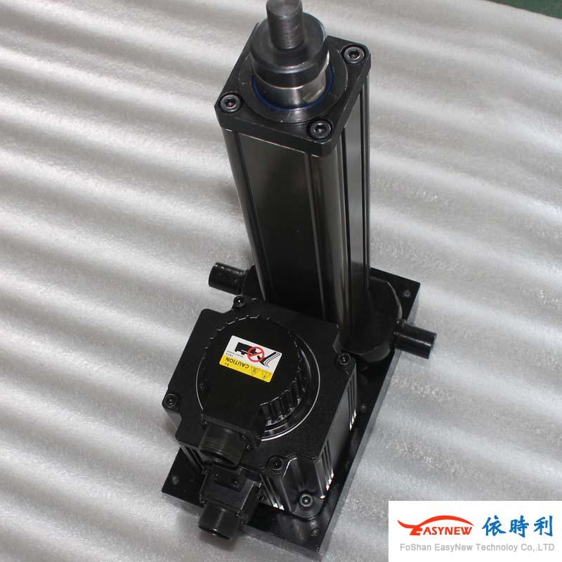 依时利折返式YSL75R-200行程333速度2.5KN推力电动缸